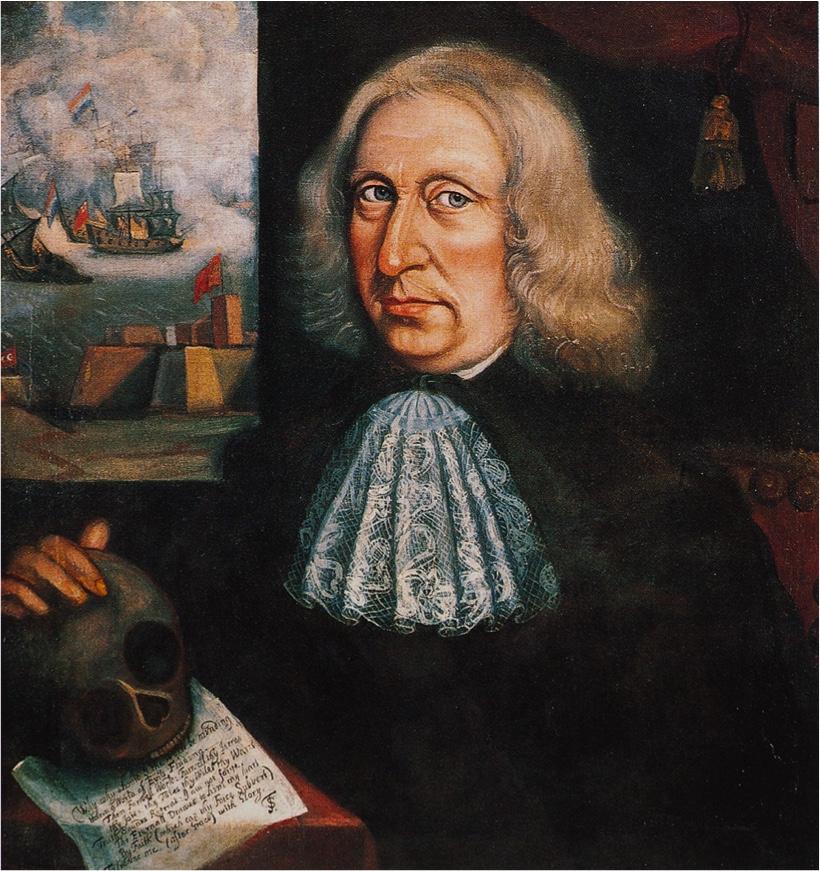 Thomas Smith self portrait